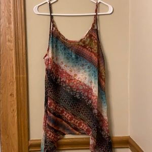 MAURICES SZ Med-large. SHEER TANK TOP